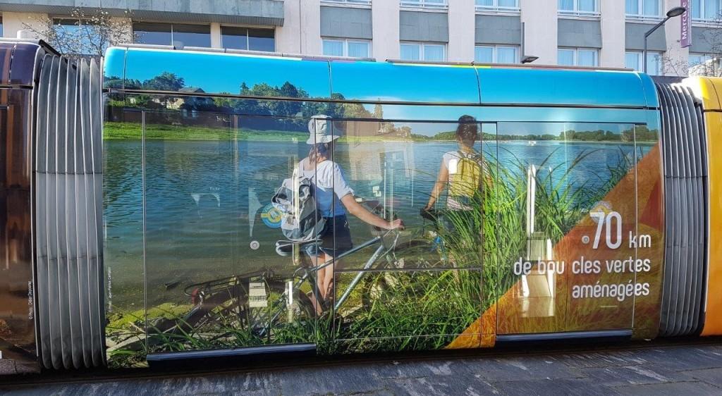 70KMのグリーンループの整備(これは自然Walkingコースを整備したのか、自転車専用道なのか、記載が無いので曖昧。写真は自転車だが・・)