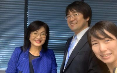 日本経済研究所にて講演