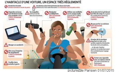 運転安全規制・車、自転車でイアフォン使用禁止
