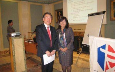 パリ商工会議所にて講演 日本人対象2011年2013年