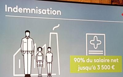 フランス地方統一選挙の結果と、その翌日に発表された外出自粛令と国民への経済支援策