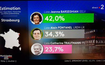 ストラスブール市の新市長は緑の党・38歳の女性。フランスの市長選挙