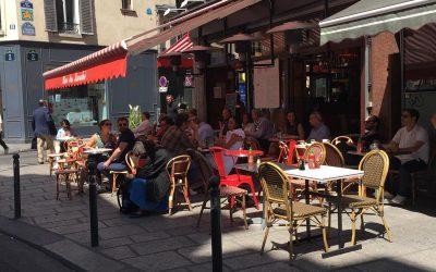 6月3日からカフェも再開・フランスの道路空間利用